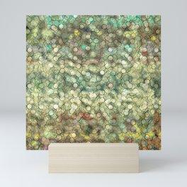 Abstract circle #4 Mini Art Print