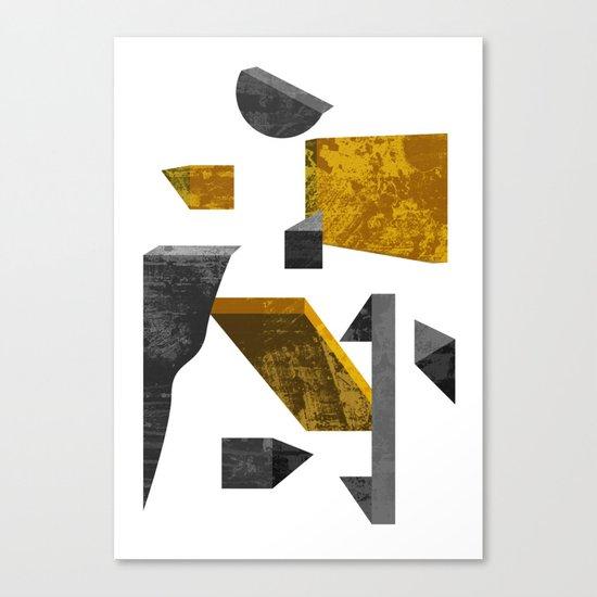 Geometric poster Canvas Print