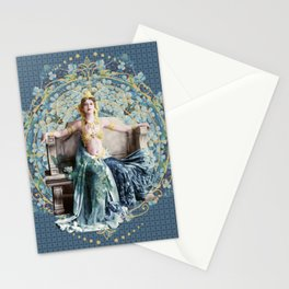 Adrienne  Femme Fractale Stationery Cards