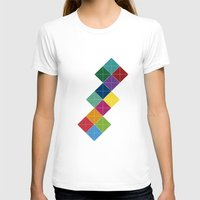 diamonds T-shirts featuring Diamonds by Losal Jsk