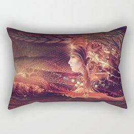 Shadow Of A Thousand Lives - Digital painting - Manafold Art Rectangular Pillow