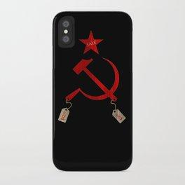Communism vs. Capitalism iPhone Case