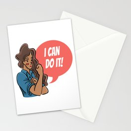 I Can Do It Stationery Cards