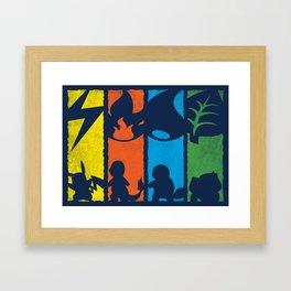 Pokechoice Framed Art Print