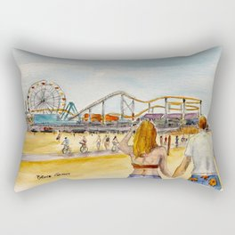 Santa Monica Pier Ferriswheel Rectangular Pillow