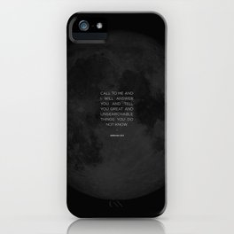 Call To Me iPhone Case