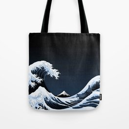 Big waves Tote Bag