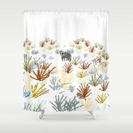 California Chaparral Shower Curtain