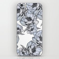 floating flowers iPhone & iPod Skin