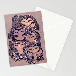 Day Owls Stationery Cards