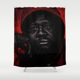 Portrait of a Black Man 'American Skin' by Jeanpaul Ferro Shower Curtain