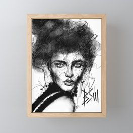 The Storm  Framed Mini Art Print
