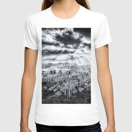 Explosion above Hong Kong! T-shirt