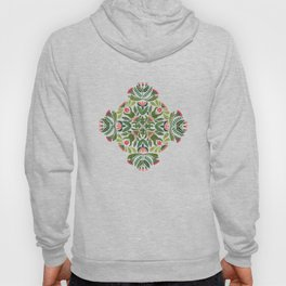 Little Red Riding Hood mandala Hoody