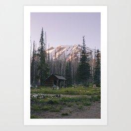 Mount Adams Art Print