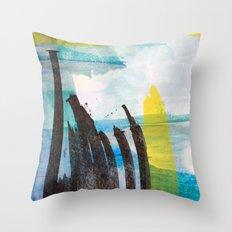 Little Reeds Throw Pillow