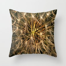 Graindelion Throw Pillow