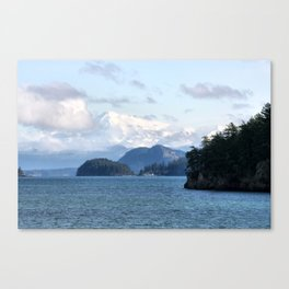 From the Mountains to the Sea Canvas Print