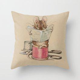 Beatrix Potter Tailor Mouse Throw Pillow