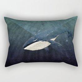 Everett's Whale Rectangular Pillow