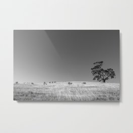 Tree on The Hill Metal Print