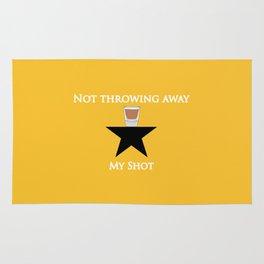 Not Throwing Away My Shot (Hamilton) Rug