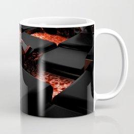 3D Lava Blocks Coffee Mug