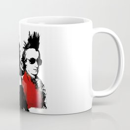 Beethoven Mozart Punk Composers Coffee Mug
