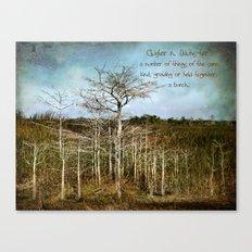 Cluster Canvas Print
