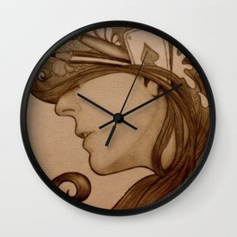 On my mind Wall Clock