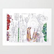 spiritual parps Art Print