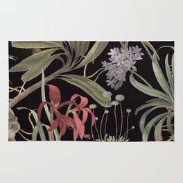 Dark Botanicals (pillow variant) Rug
