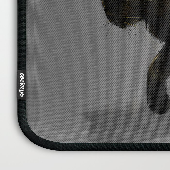 This Cat Is On Fire! Laptop Sleeve