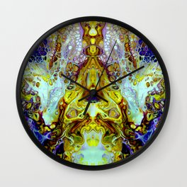 mirror 11 Wall Clock