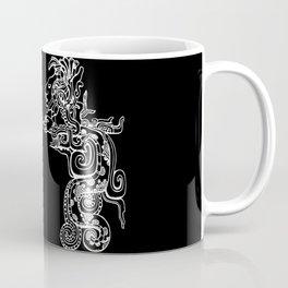 Maya Serpent Black Coffee Mug