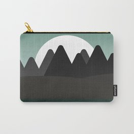 Aqua Landscape Carry-All Pouch