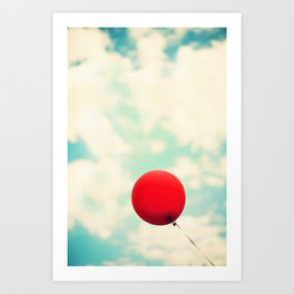Nowhere To Go But Up Art Print