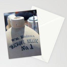 Microbe Killer Stationery Cards
