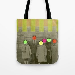 Fluo Family Tote Bag