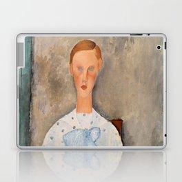"Amedeo Modigliani ""Girl with a Polka-Dot Blouse (Jeune fille au corsage à pois)"" Laptop & iPad Skin"