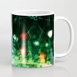 Pea Flower-Phantom Of The Garden-Abstract Coffee Mug