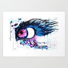 """""""contaminated"""" Art Print"""