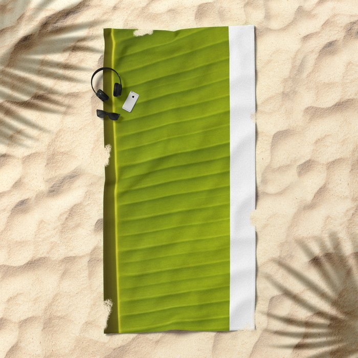 Banana Leaf II Beach Towel