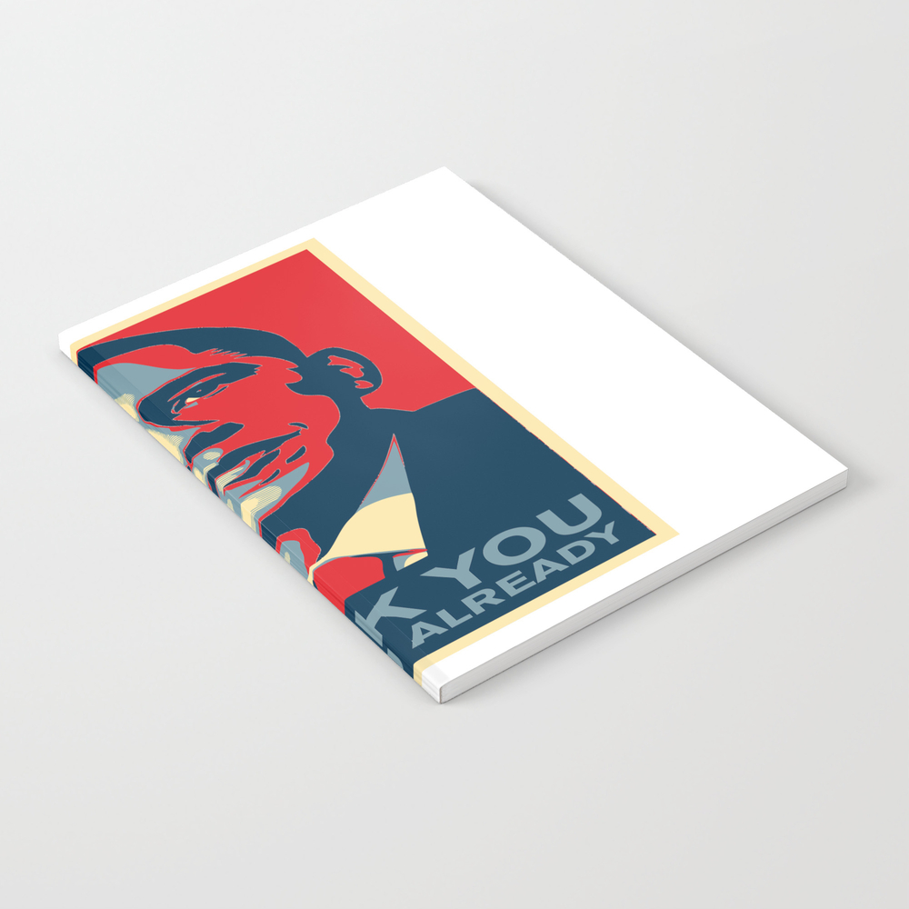 Obama - Thank You, Miss You Already Notebook by Jetstar999 NBK8345730
