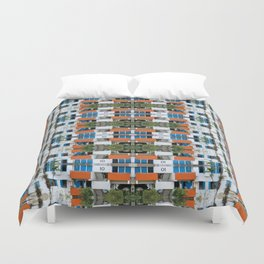 Cuban Eco Village Duvet Cover