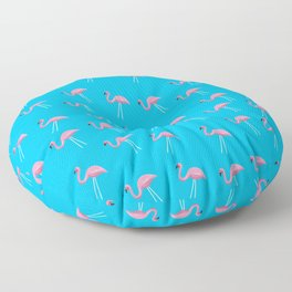 Mr. Flamingo Floor Pillow