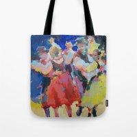 folk Tote Bags featuring Folk  by Renata Domagalska
