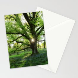 To Swing On The Tree Of Hope Stationery Cards