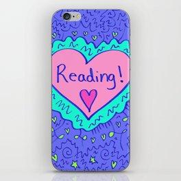Reading! iPhone Skin