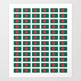 flag of bengladesh-bengladesh,Bengali, bengladeshi,bengalবাংলাদেশ, dhaka. Art Print